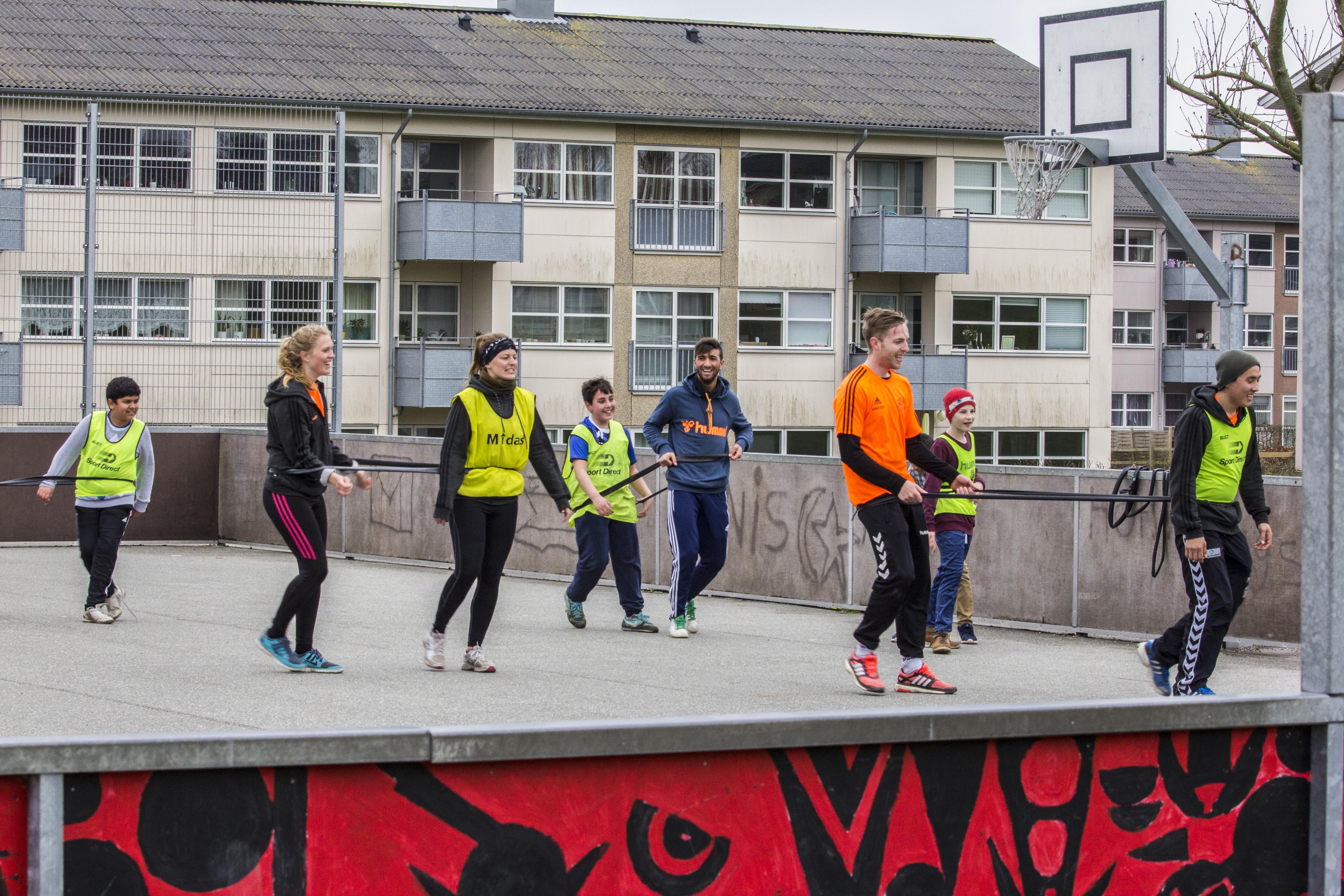 Sjov og motion med Idrætshøjskolen
