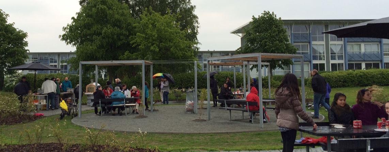 Indvielse af parken i Stenbjergparken