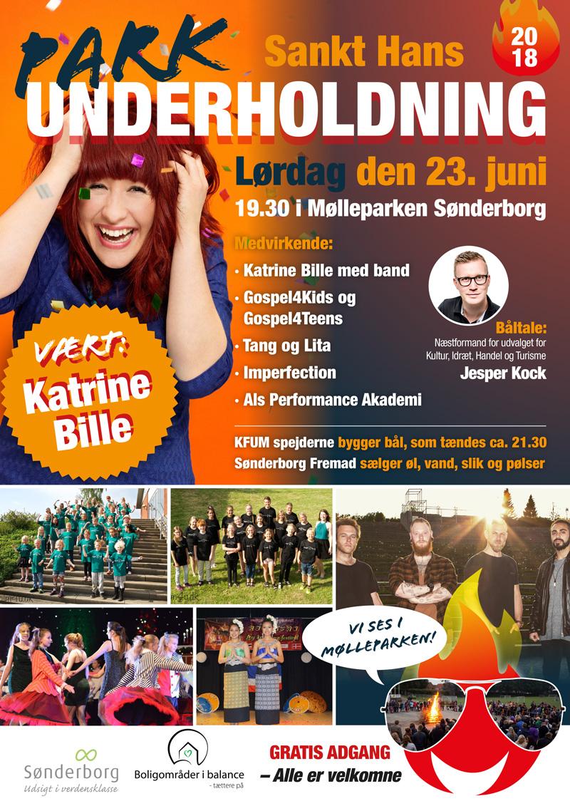 Sankt Hans og underholdning i Mølleparken