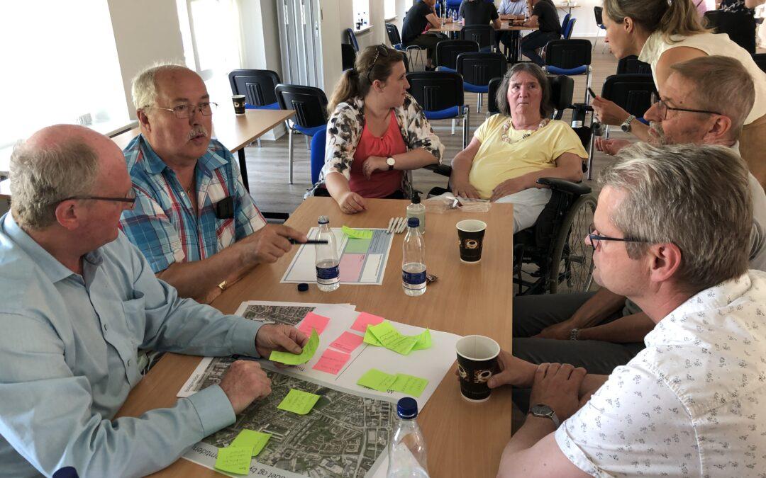 35 deltog i workshop om boligområdets forandringer